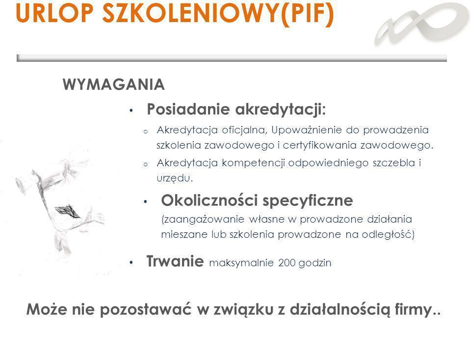 URLOP SZKOLENIOWY(PIF)