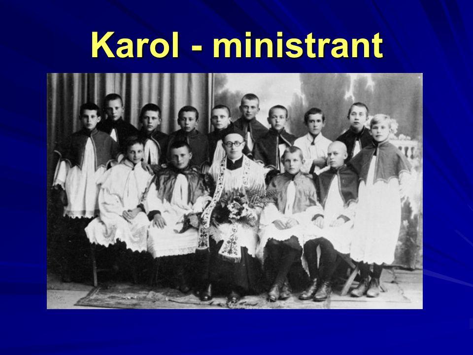 Karol - ministrant
