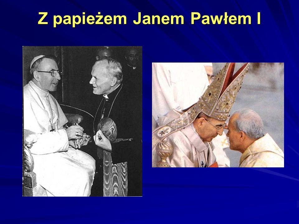 Z papieżem Janem Pawłem I