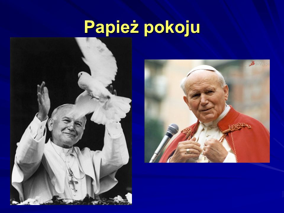 Papież pokoju