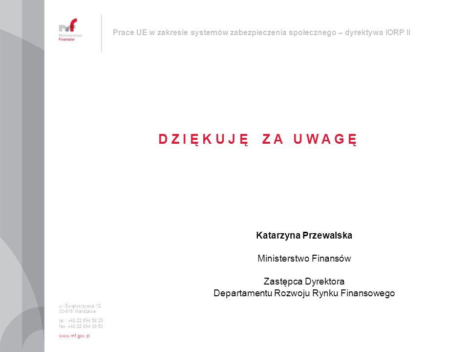 D Z I Ę K U J Ę Z A U W A G Ę Katarzyna Przewalska