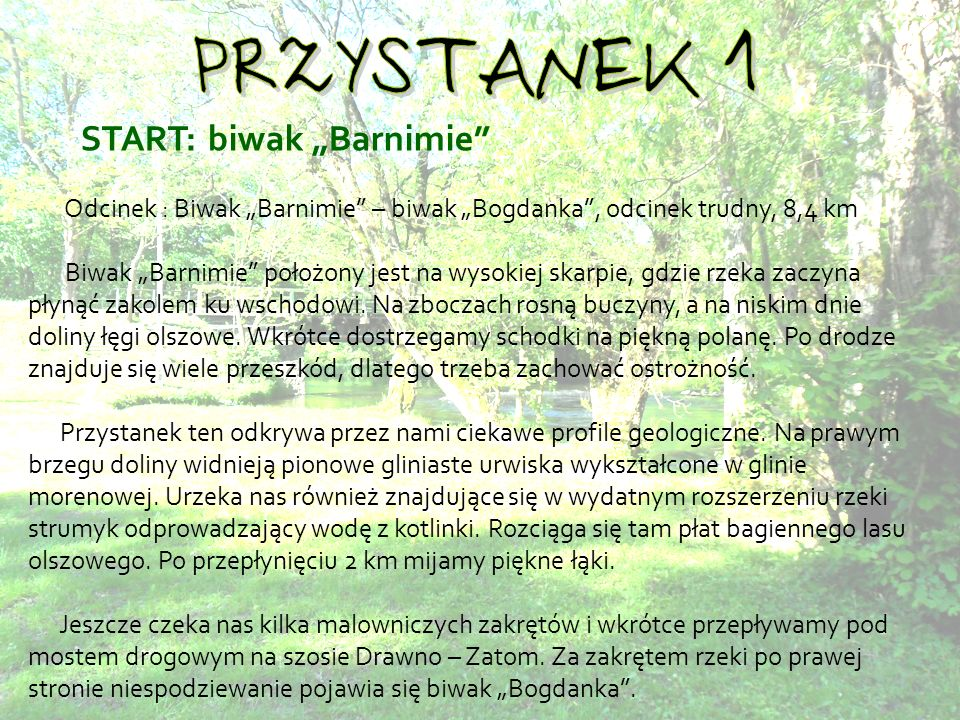 """START: biwak """"Barnimie"""