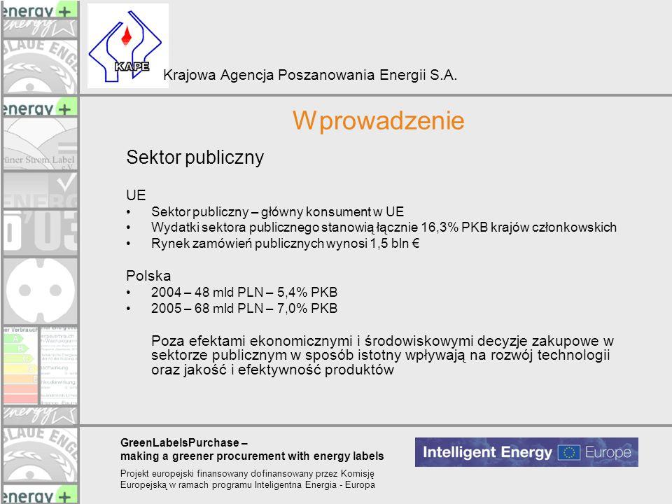 Wprowadzenie Sektor publiczny UE Polska