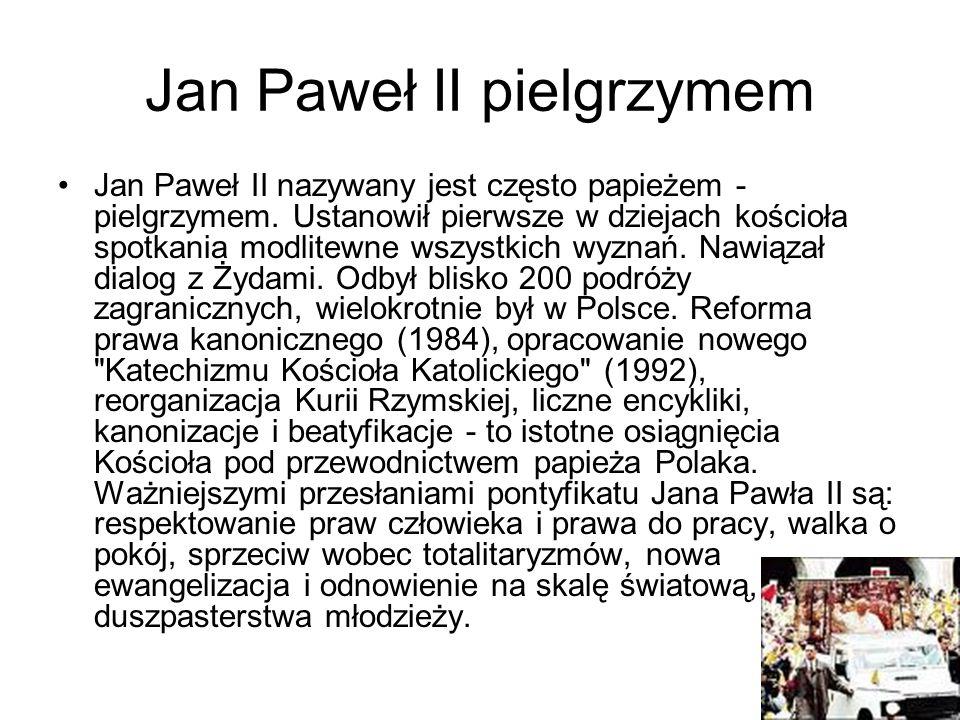 Jan Paweł II pielgrzymem