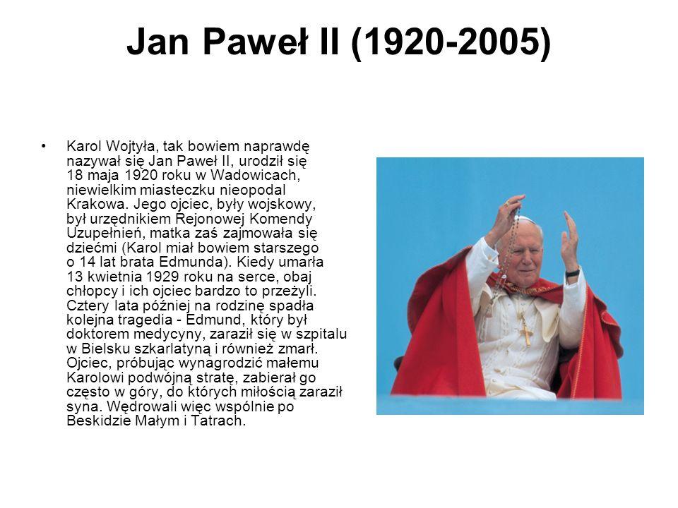 Jan Paweł II (1920-2005)