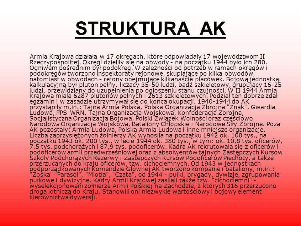 STRUKTURA AK