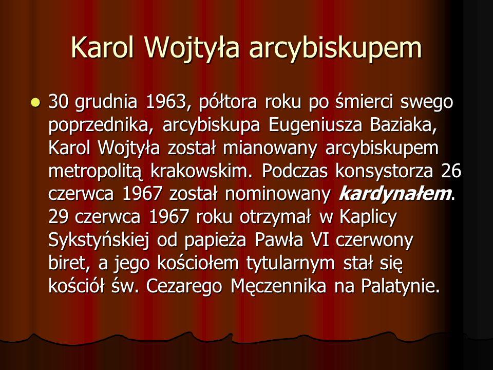 Karol Wojtyła arcybiskupem