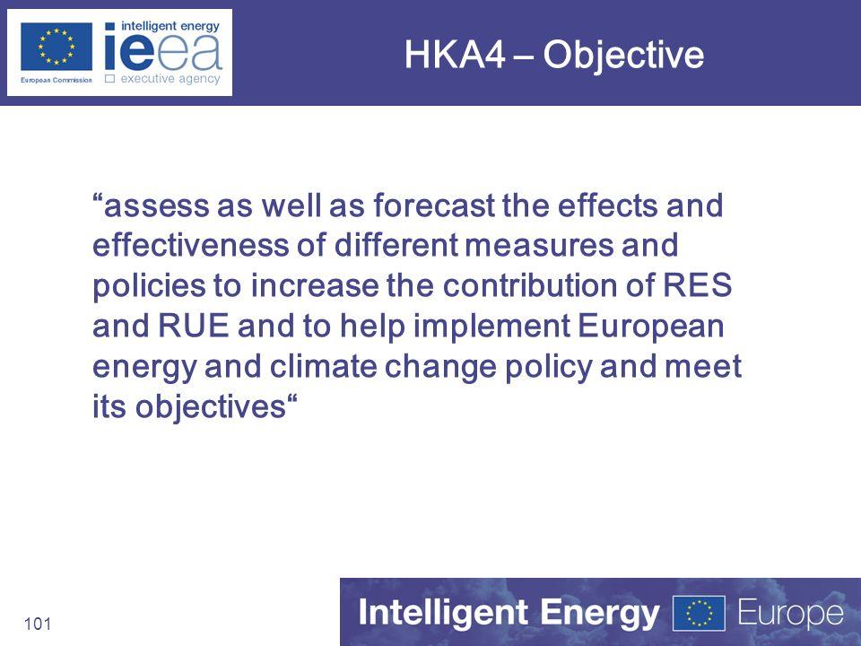 HKA4 – Objective