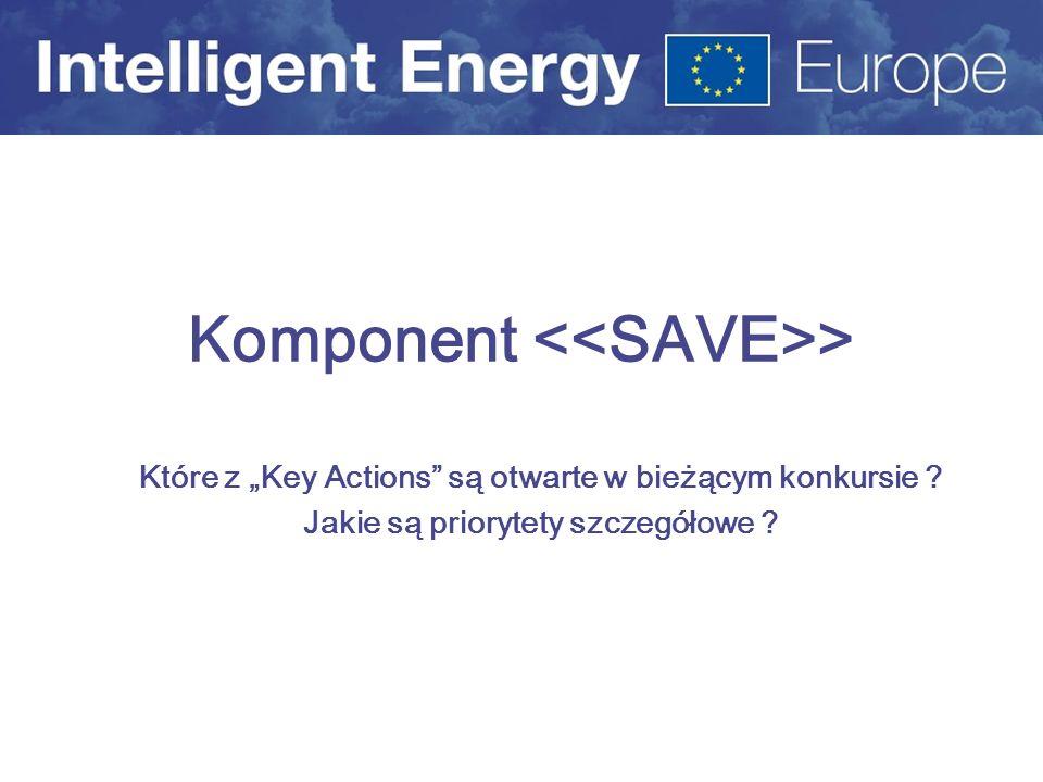 Komponent <<SAVE>>