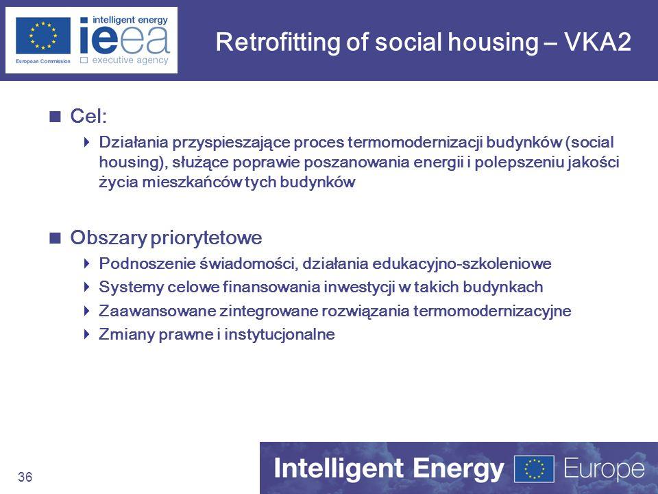 Retrofitting of social housing – VKA2