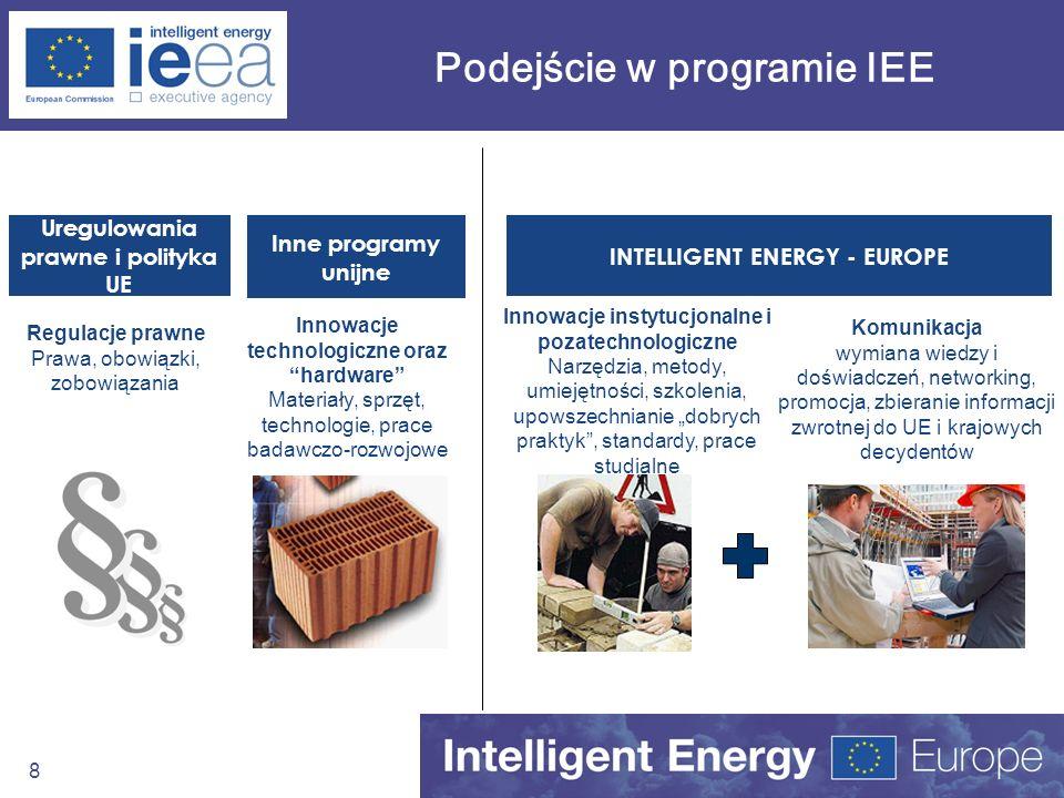 Podejście w programie IEE
