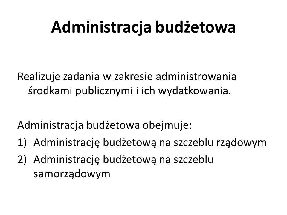 Administracja budżetowa