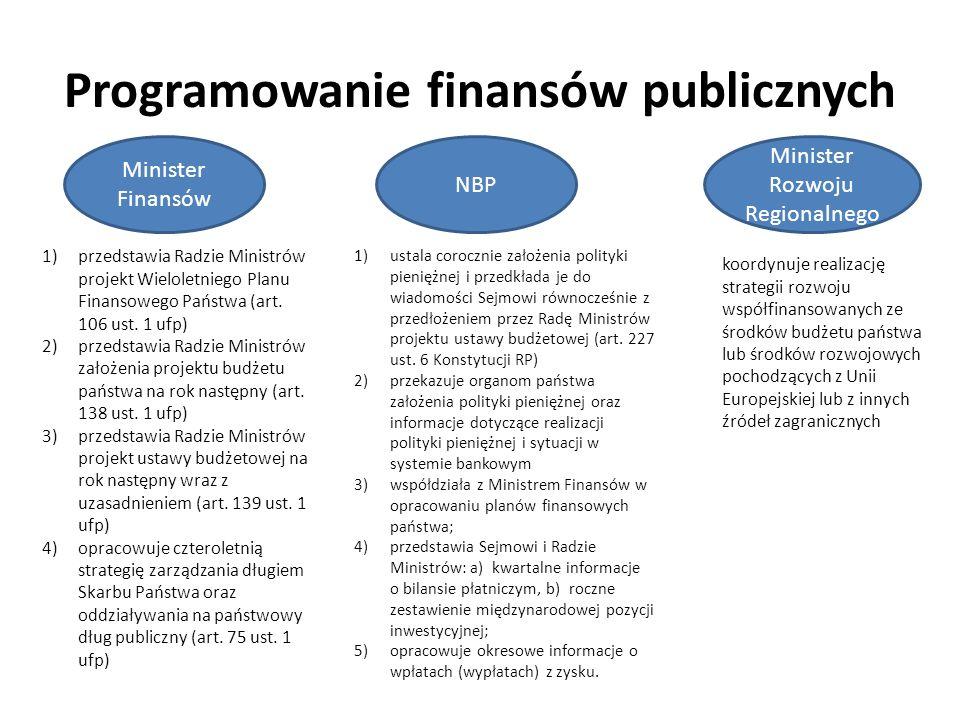 Programowanie finansów publicznych