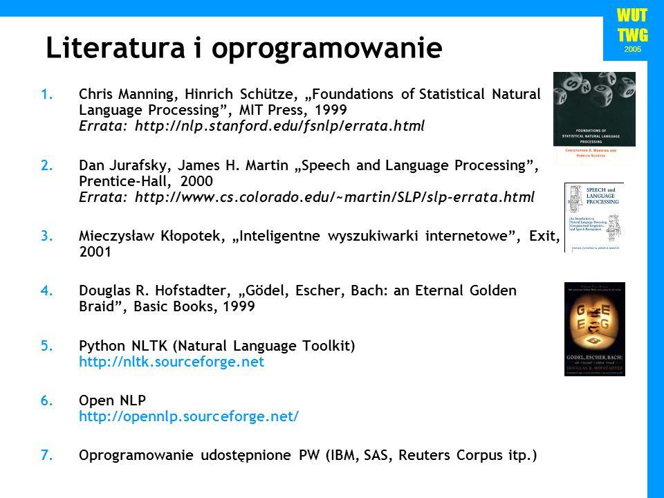 Literatura i oprogramowanie