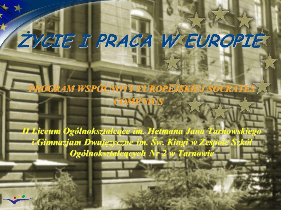 PROGRAM WSPÓLNOTY EUROPEJSKIEJ SOCRATES COMENIUS