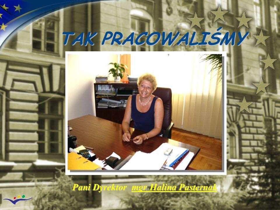 Pani Dyrektor mgr Halina Pasternak