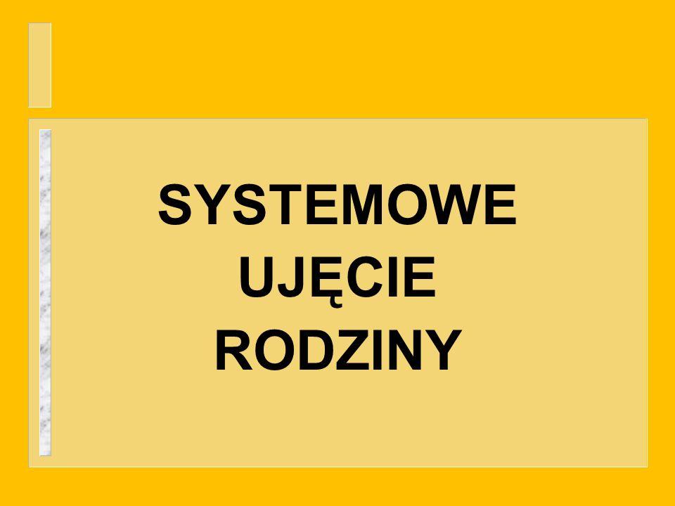 SYSTEMOWE UJĘCIE RODZINY