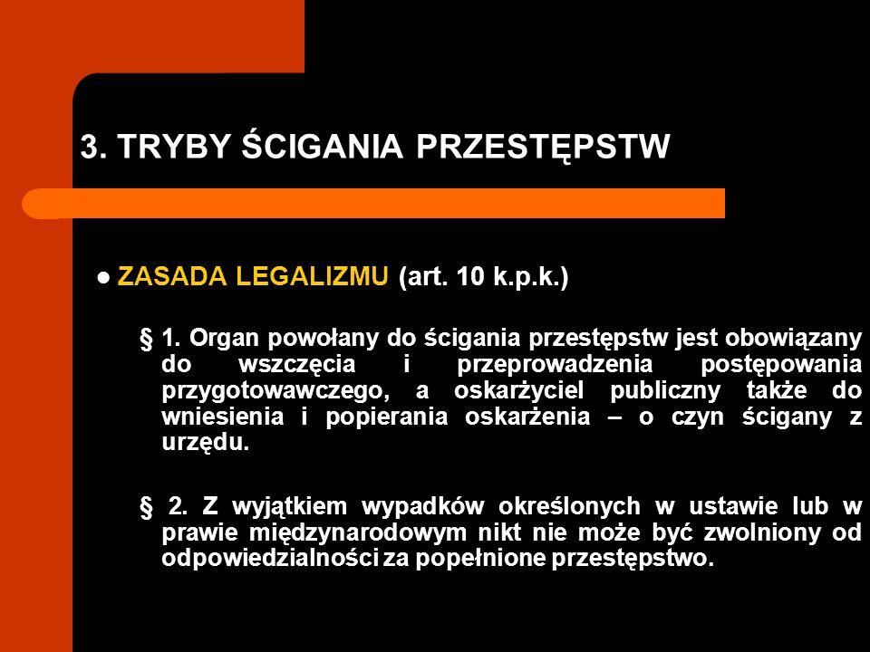3. TRYBY ŚCIGANIA PRZESTĘPSTW