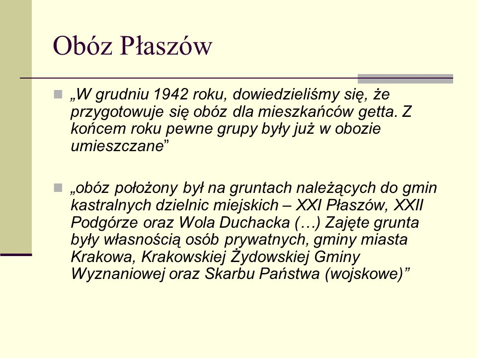 Obóz Płaszów
