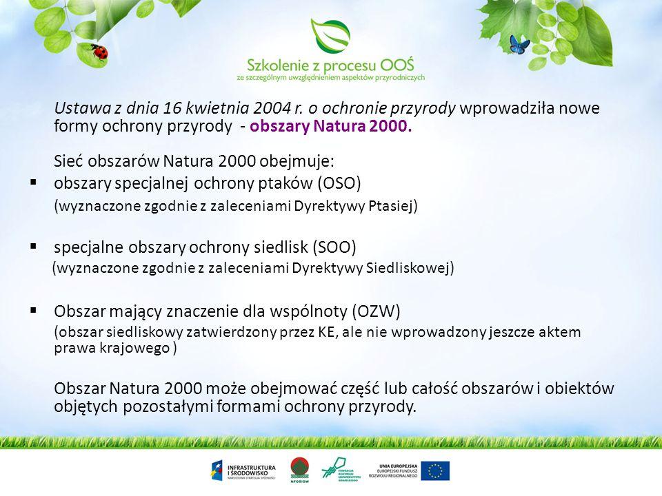 obszary specjalnej ochrony ptaków (OSO)