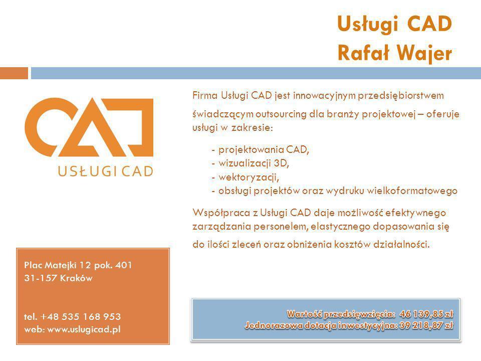 Usługi CAD Rafał Wajer