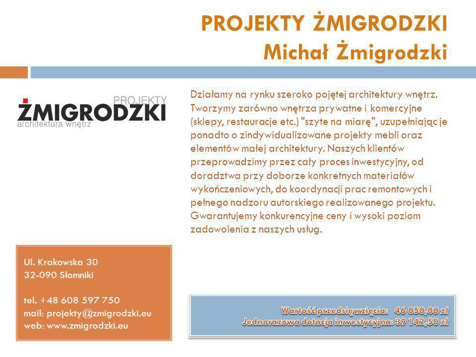 PROJEKTY ŻMIGRODZKI Michał Żmigrodzki