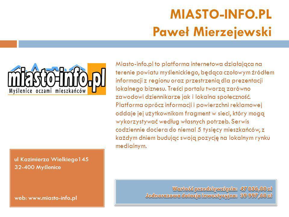 MIASTO-INFO.PL Paweł Mierzejewski