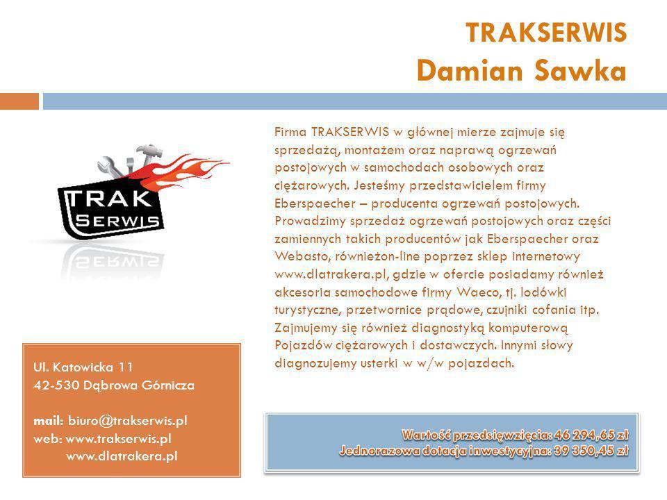 TRAKSERWIS Damian Sawka