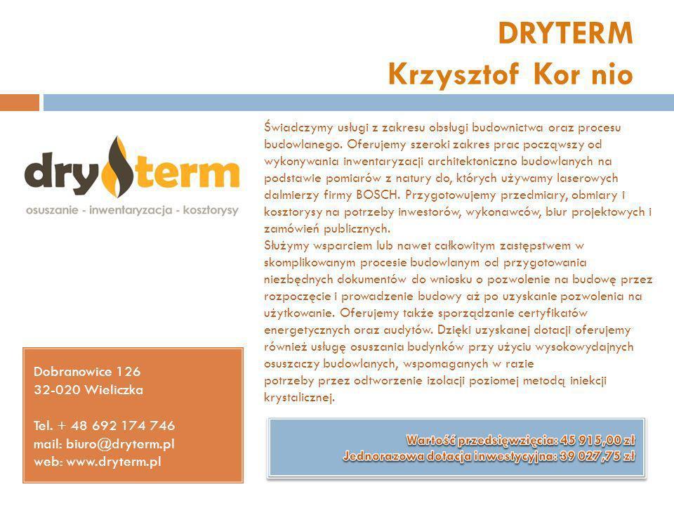 DRYTERM Krzysztof Kor nio