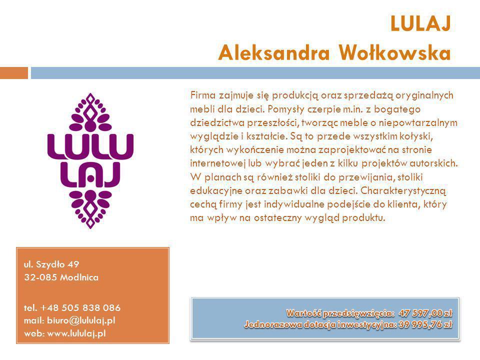 LULAJ Aleksandra Wołkowska