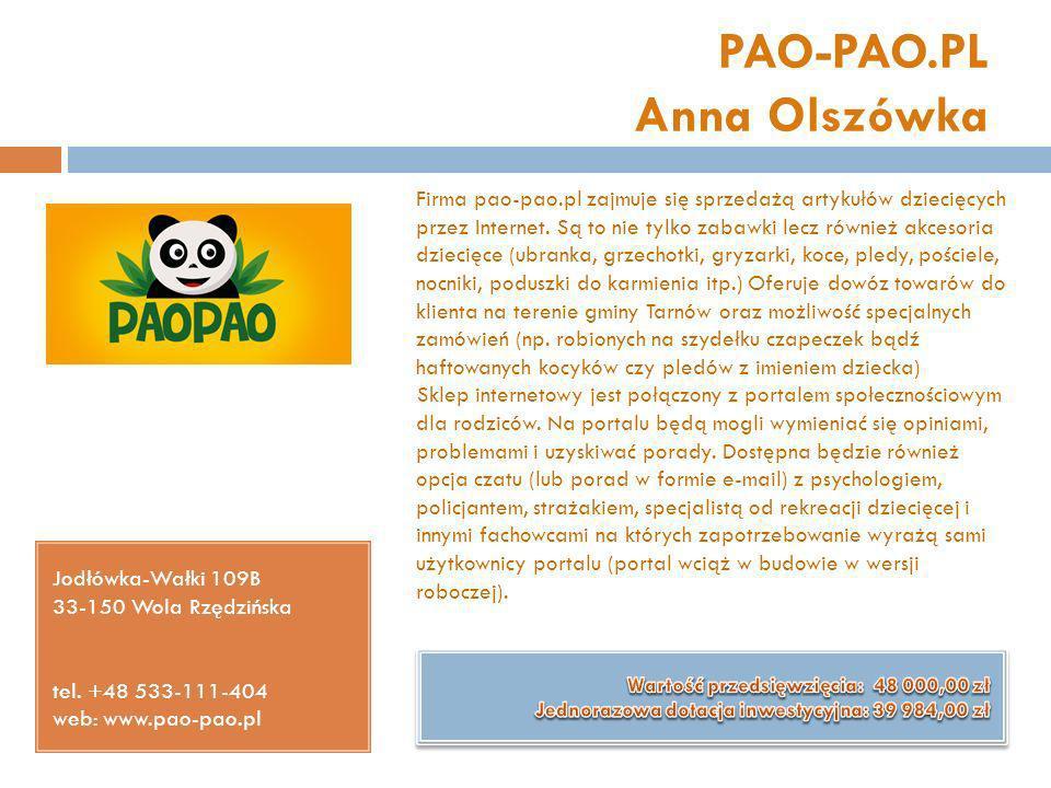 PAO-PAO.PL Anna Olszówka