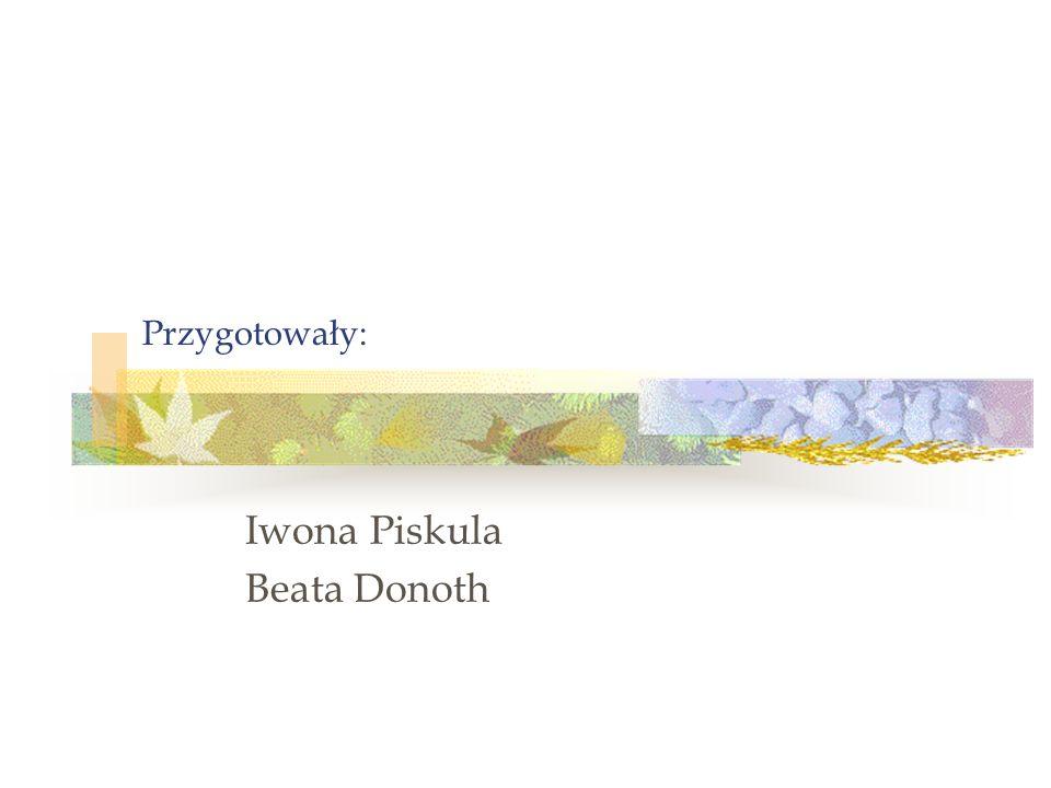 Iwona Piskula Beata Donoth