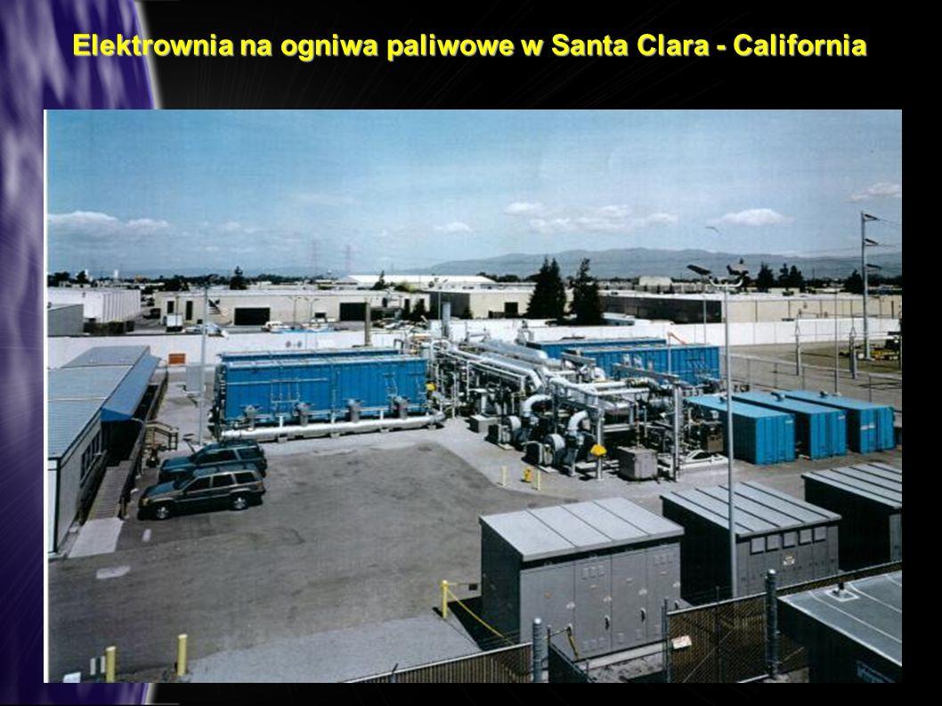 Elektrownia na ogniwa paliwowe w Santa Clara - California