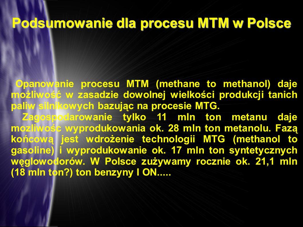 Podsumowanie dla procesu MTM w Polsce