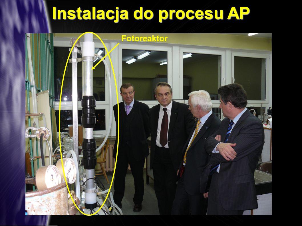 Instalacja do procesu AP