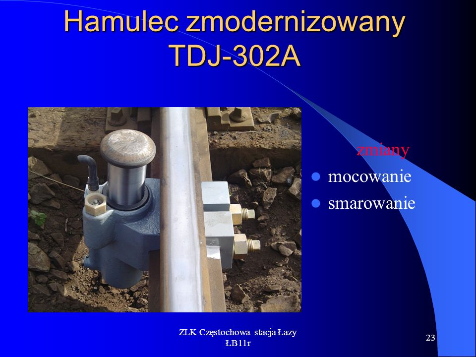 Hamulec zmodernizowany TDJ-302A