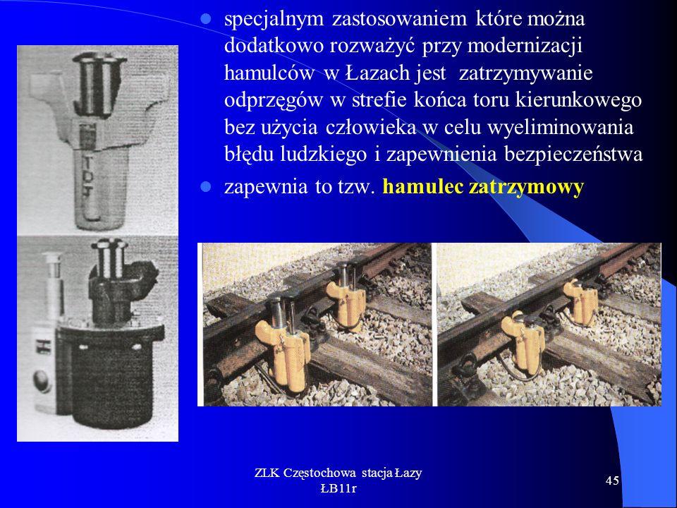 ZLK Częstochowa stacja Łazy ŁB11r