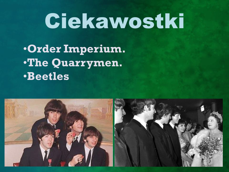 Ciekawostki Order Imperium. The Quarrymen. Beetles