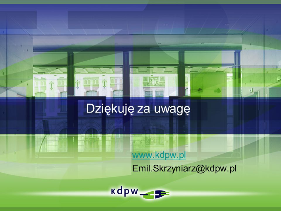 www.kdpw.pl Emil.Skrzyniarz@kdpw.pl