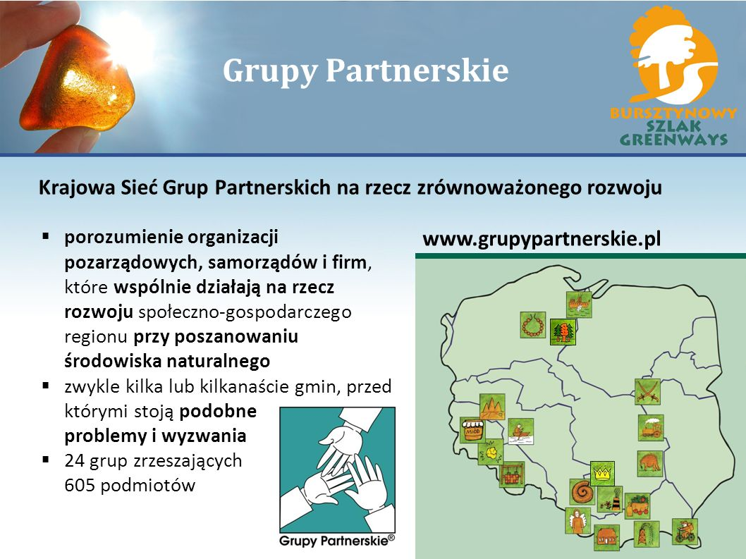 Grupy Partnerskie Krajowa Sieć Grup Partnerskich na rzecz zrównoważonego rozwoju.
