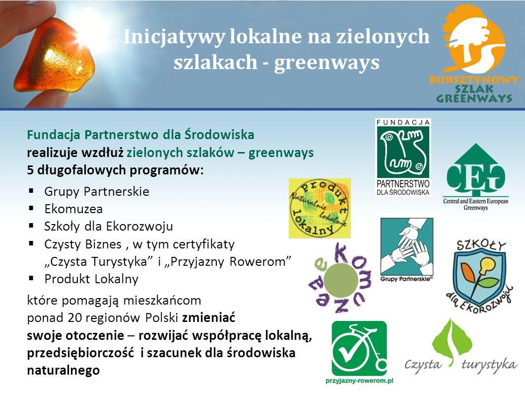 Inicjatywy lokalne na zielonych szlakach - greenways
