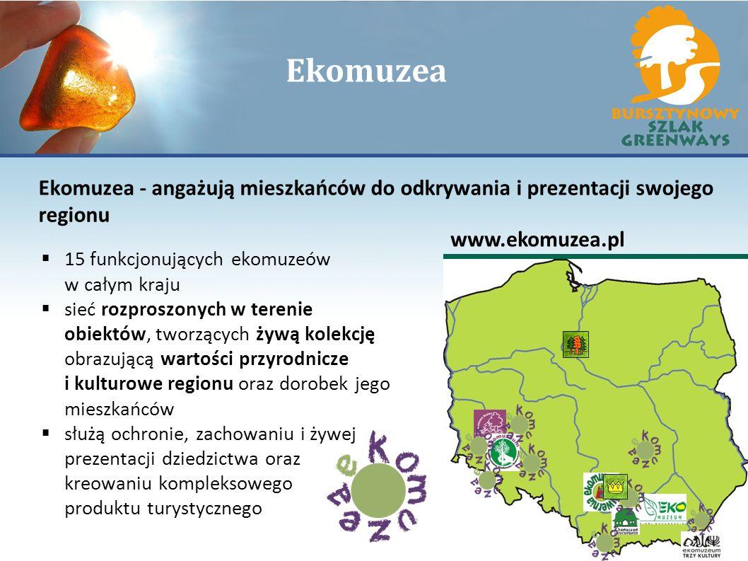 Ekomuzea Ekomuzea - angażują mieszkańców do odkrywania i prezentacji swojego regionu. www.ekomuzea.pl.