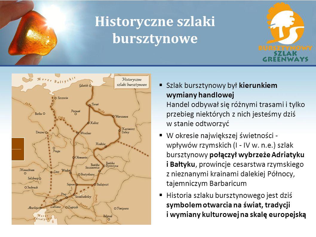 Historyczne szlaki bursztynowe