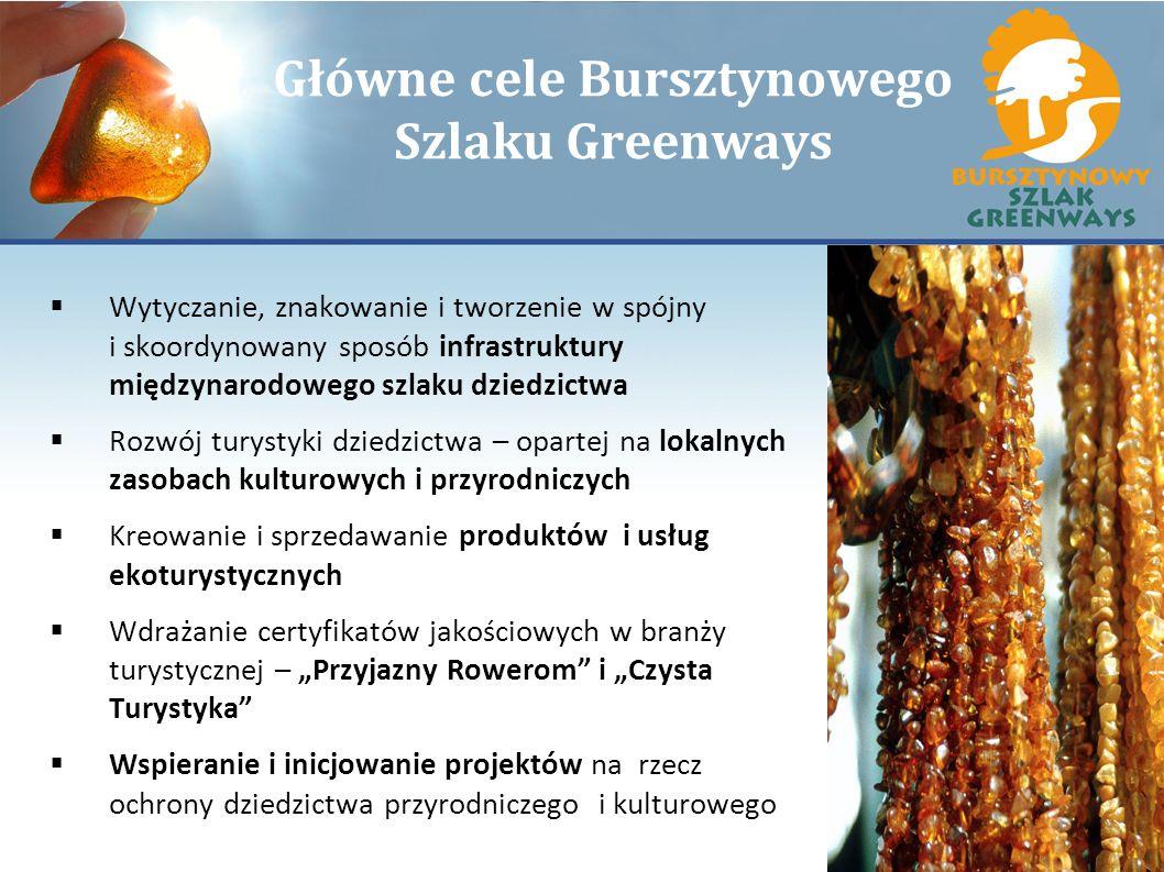 Główne cele Bursztynowego Szlaku Greenways