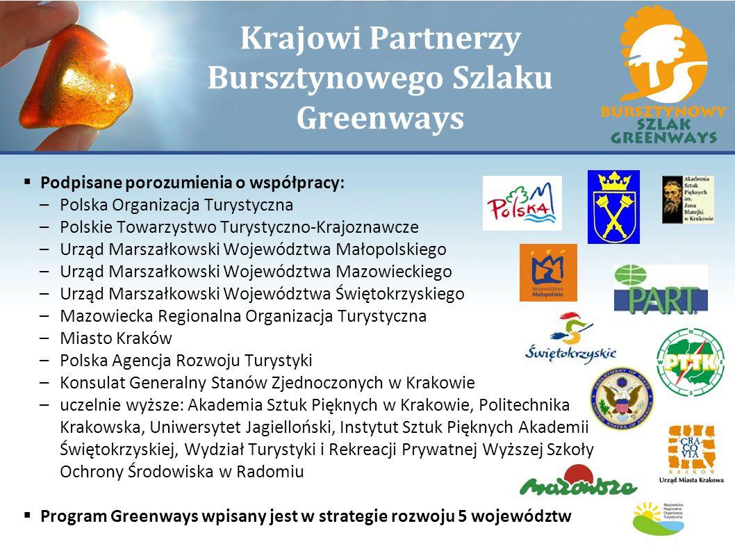 Krajowi Partnerzy Bursztynowego Szlaku Greenways