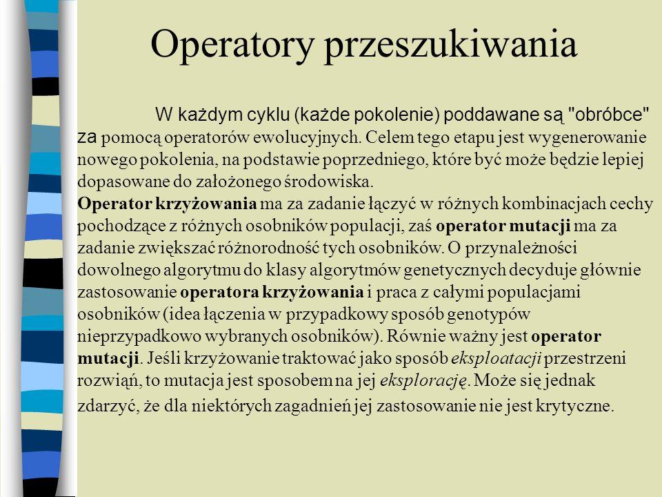 Operatory przeszukiwania