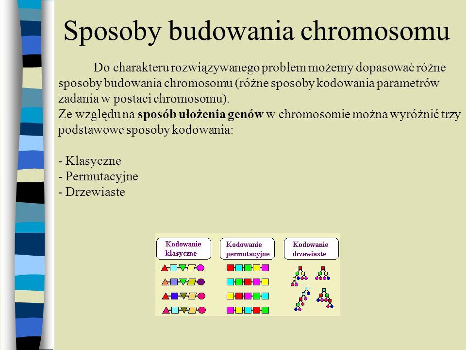 Sposoby budowania chromosomu