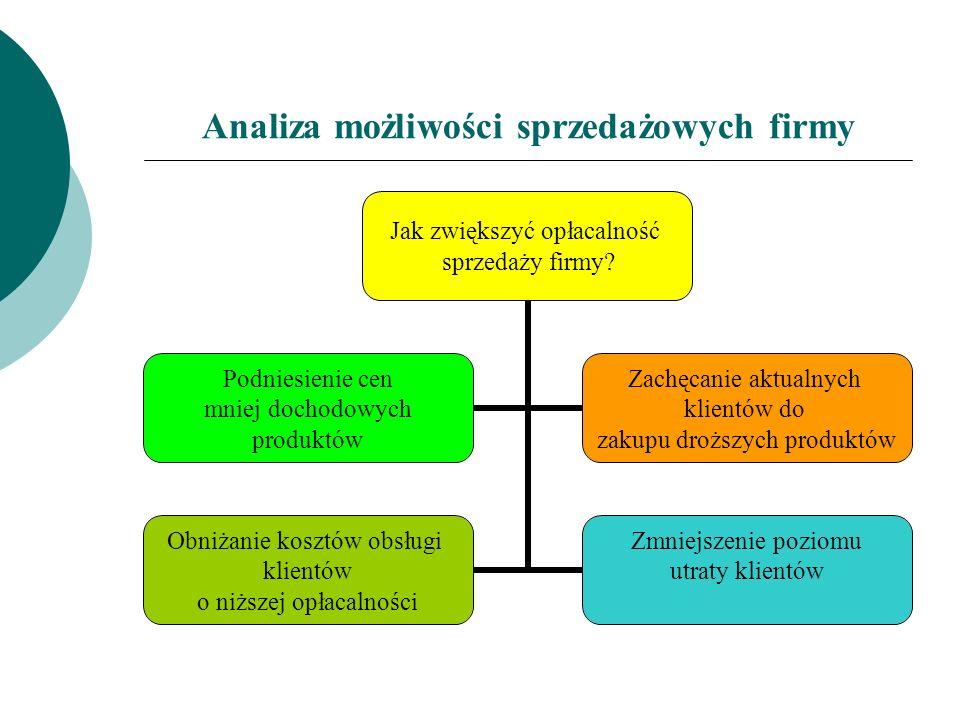 Analiza możliwości sprzedażowych firmy