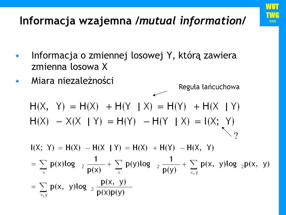 Informacja wzajemna /mutual information/