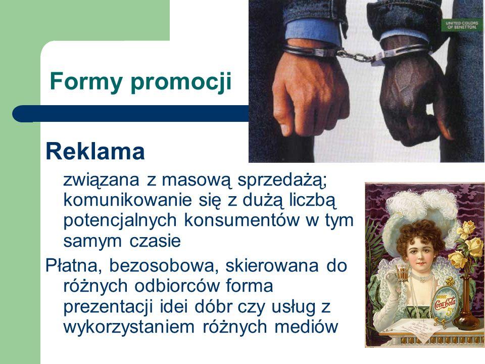 Formy promocji Reklama